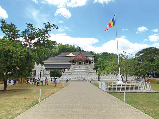 Sri Dalada Maligawa is a religious place in Kandy