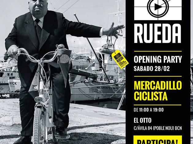 Mercadillo ciclista. Presentació del Festival Rueda