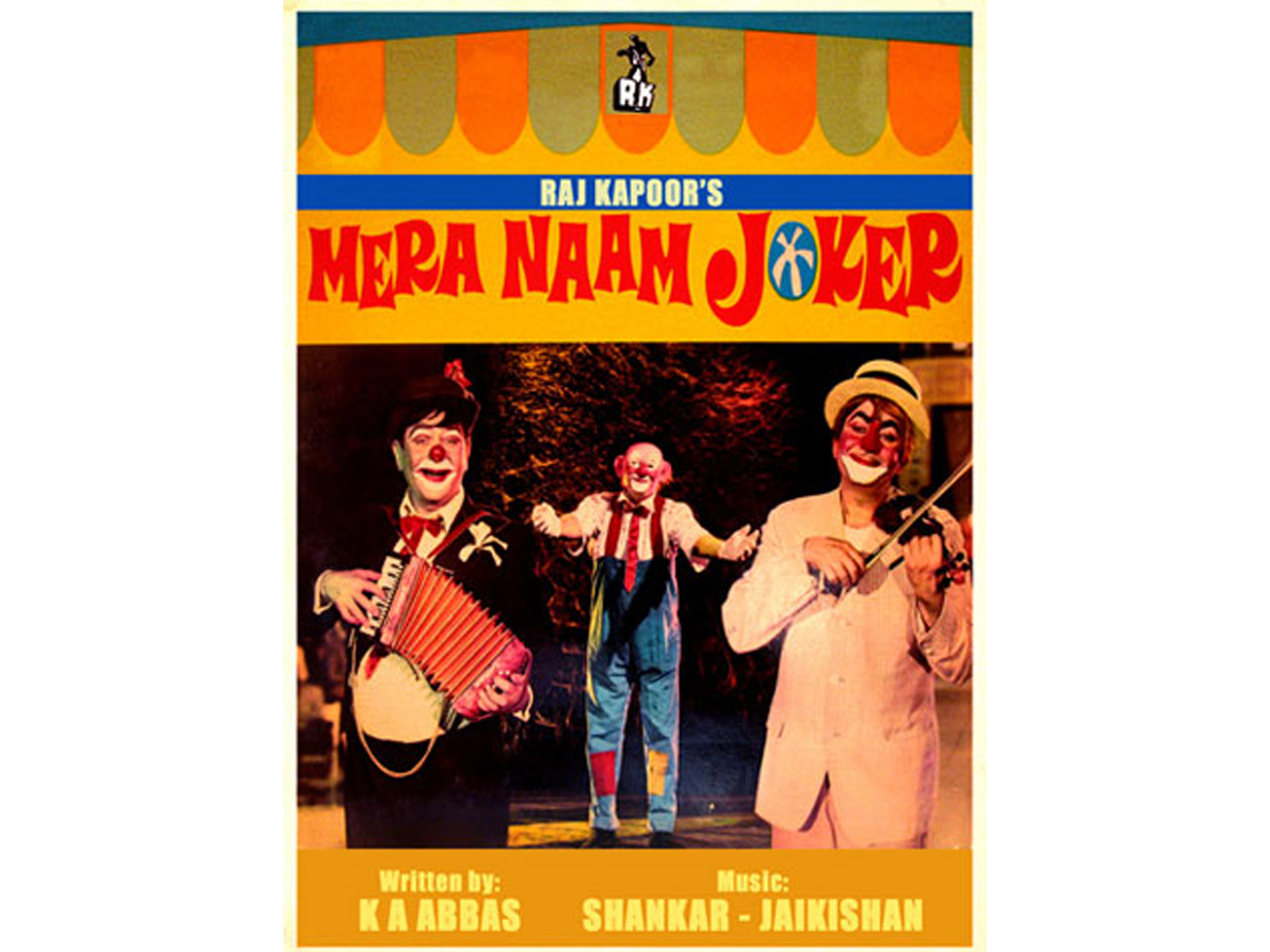 Hindi movie: Mera Naam Joker