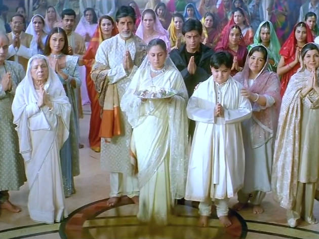 Hindi movie: Kabhi Khushi Kabhie Gham...