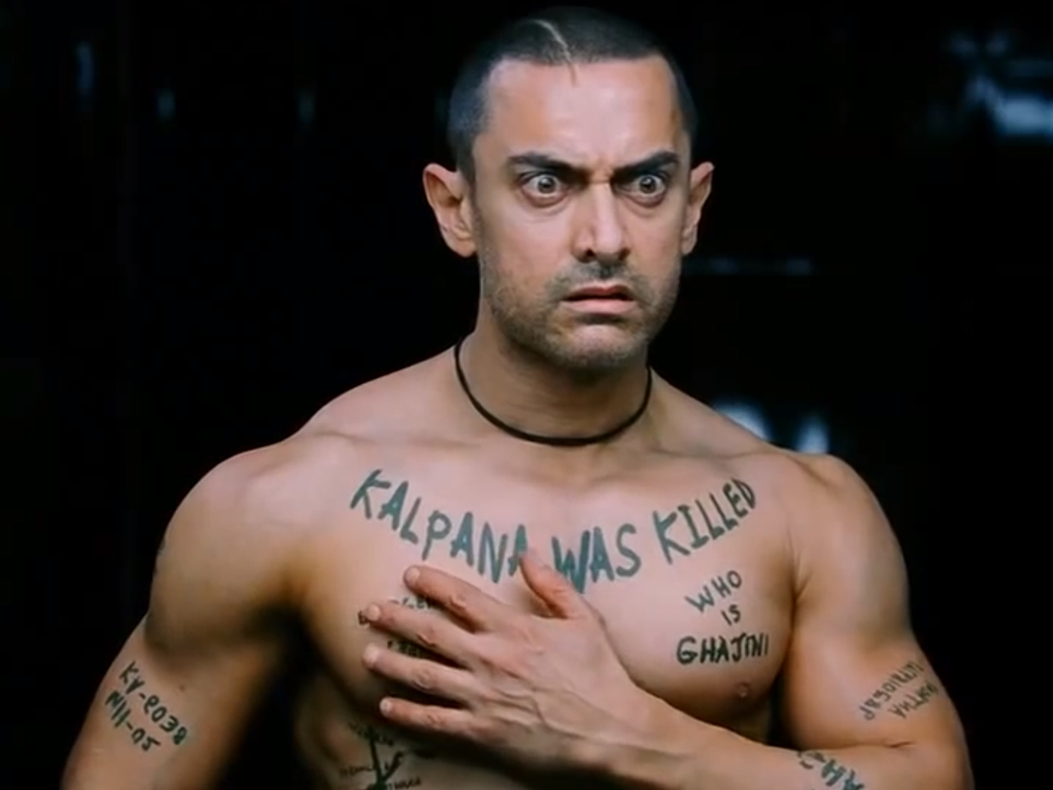 Bollywood movie: Ghajini