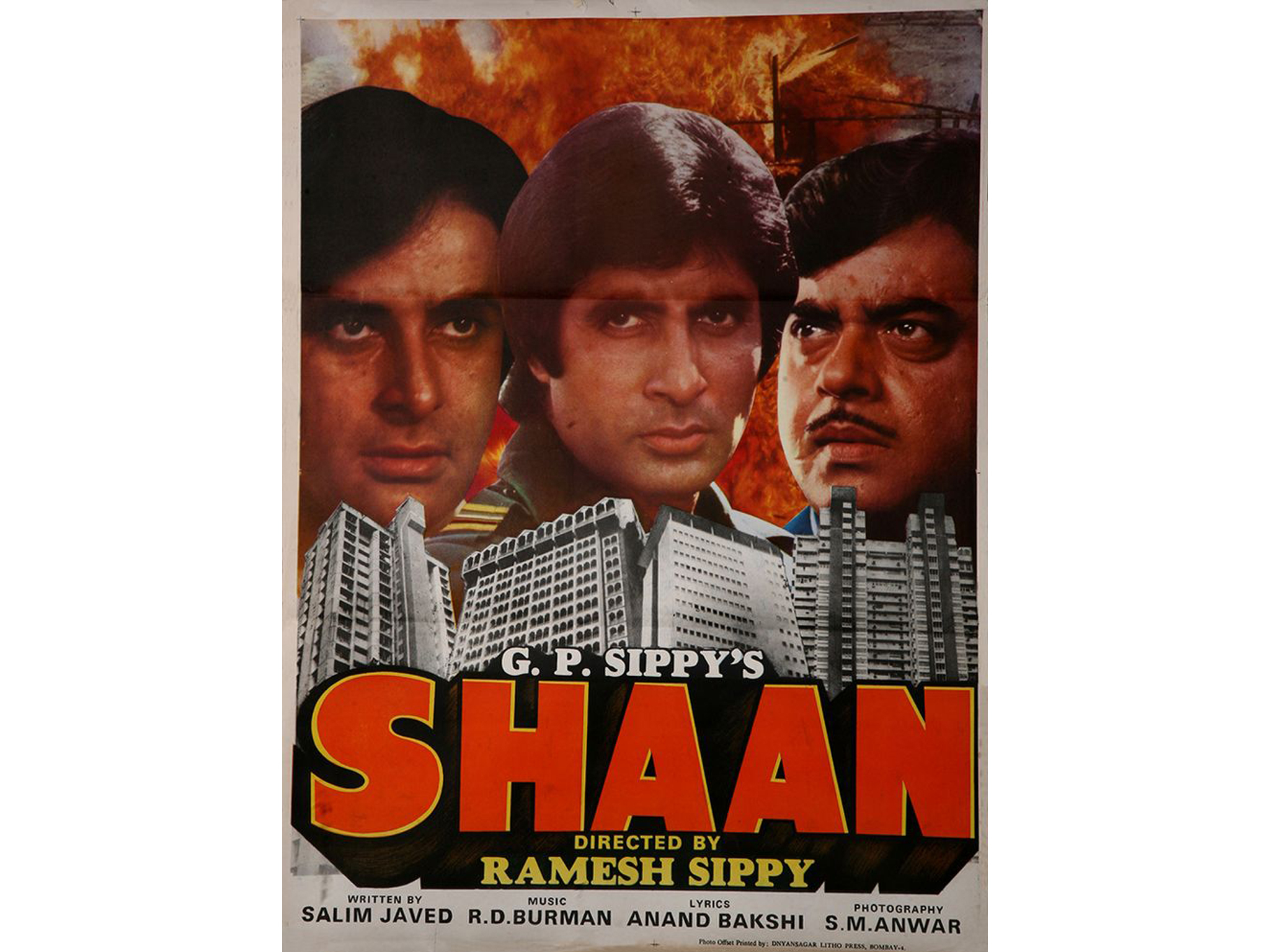 Hindi movie: Shaan