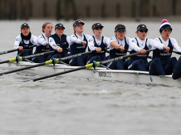 (The Newton Women's Boat Race. © Getty Images)
