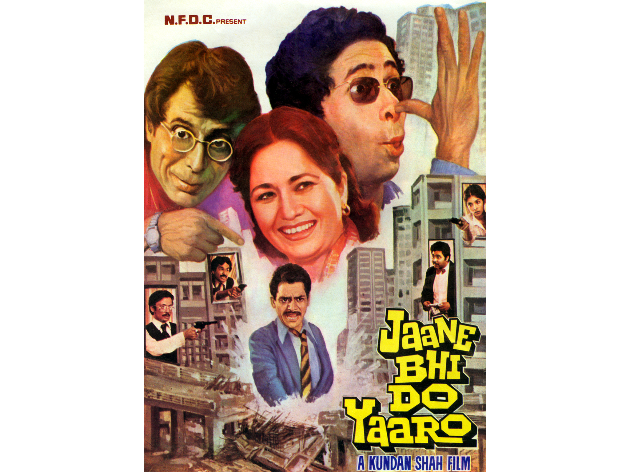 Hindi movie: Jaane Bhi Do Yaaro