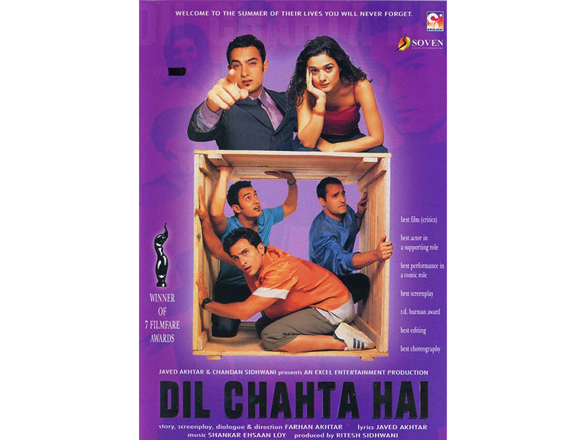 Bollywood movie: Dil Chahta Hai