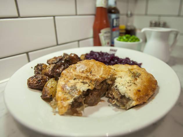 Battersea Pie - steak and stout pie