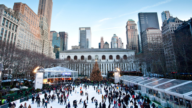 You only have three days left to ice skate at Bryant Park