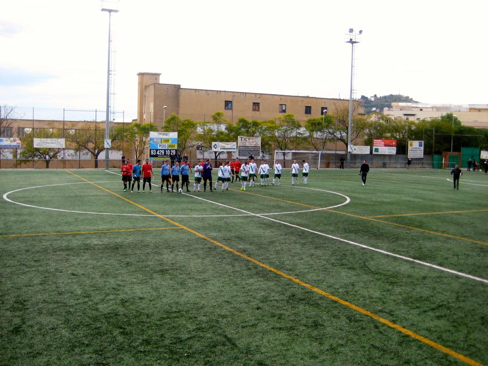 Camp Municipal de Futbol Turó de la Peira