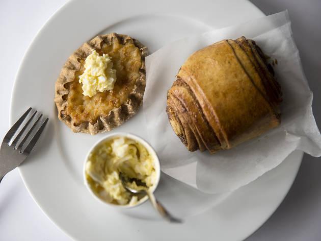 Karelian pie at Nordic Bakery