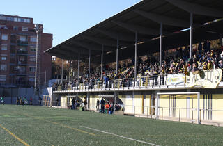 (Camp Municipal de Futbol Nou Barris)