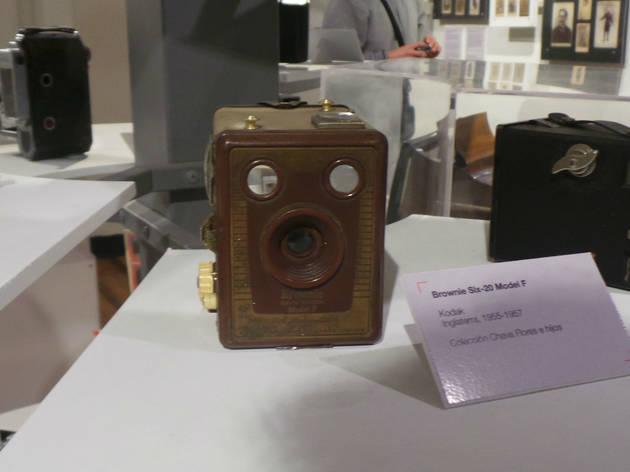 La famosa Brownie de Kodak (Foto: Gil Camargo)