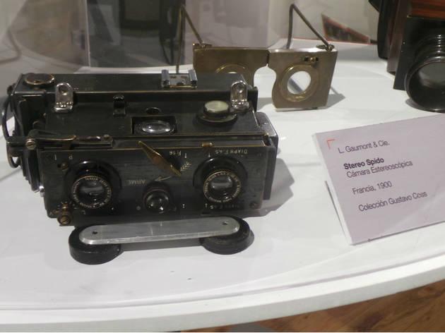 Primera cámara 3D (Foto: Gil Camargo)