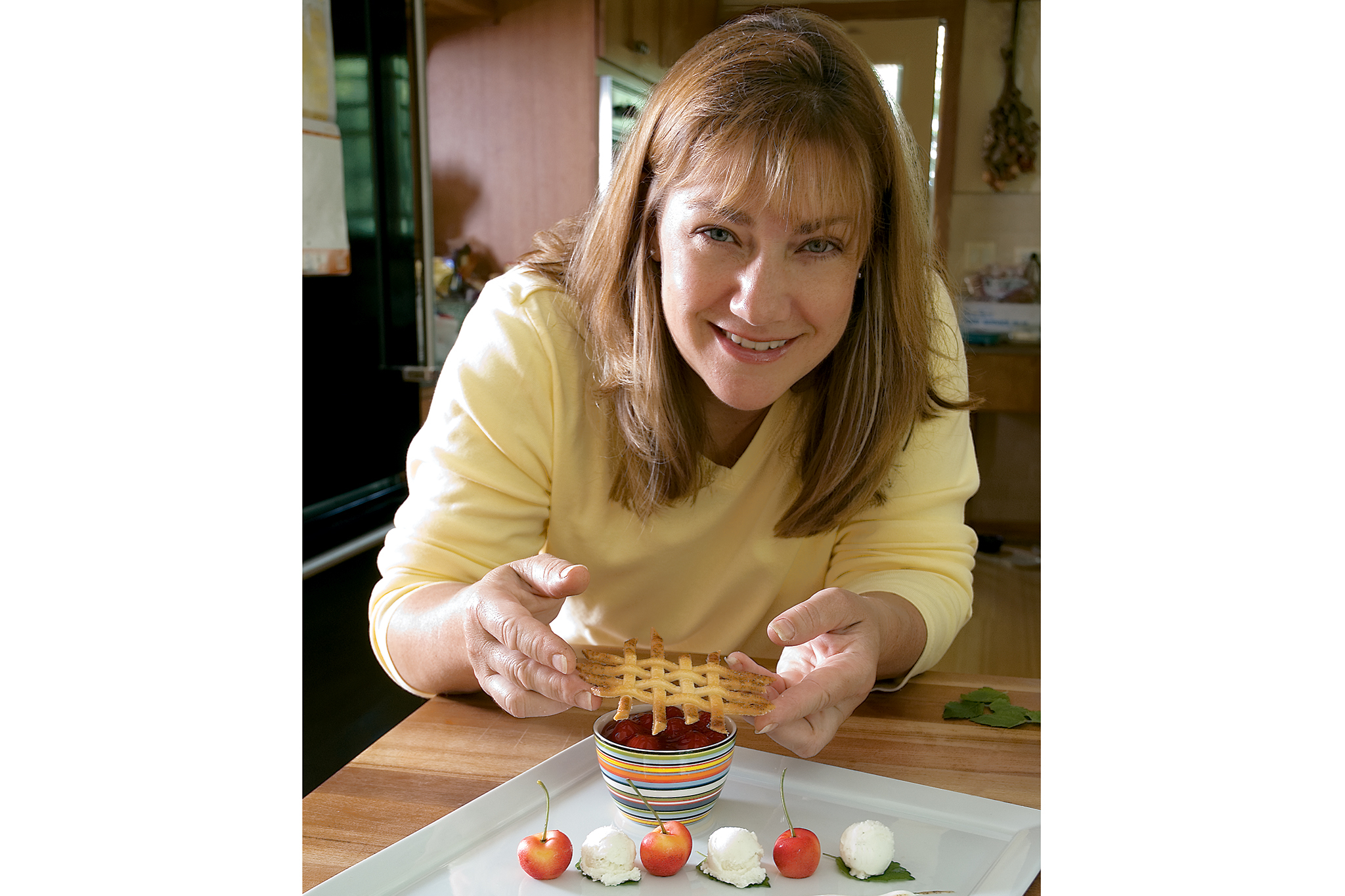 Gale Gand gives us baking tips on July 7, 2006.