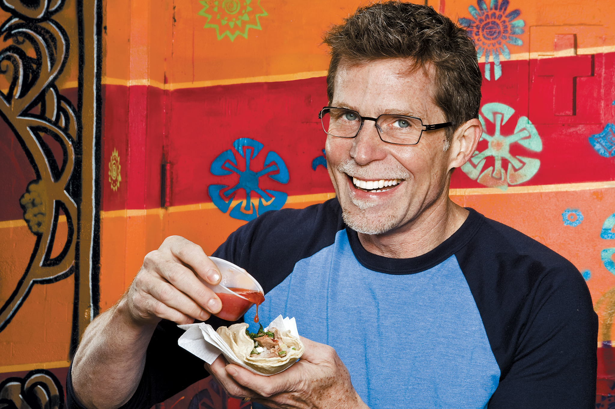 Rick Bayless on our 2008 Cheap eats cover.