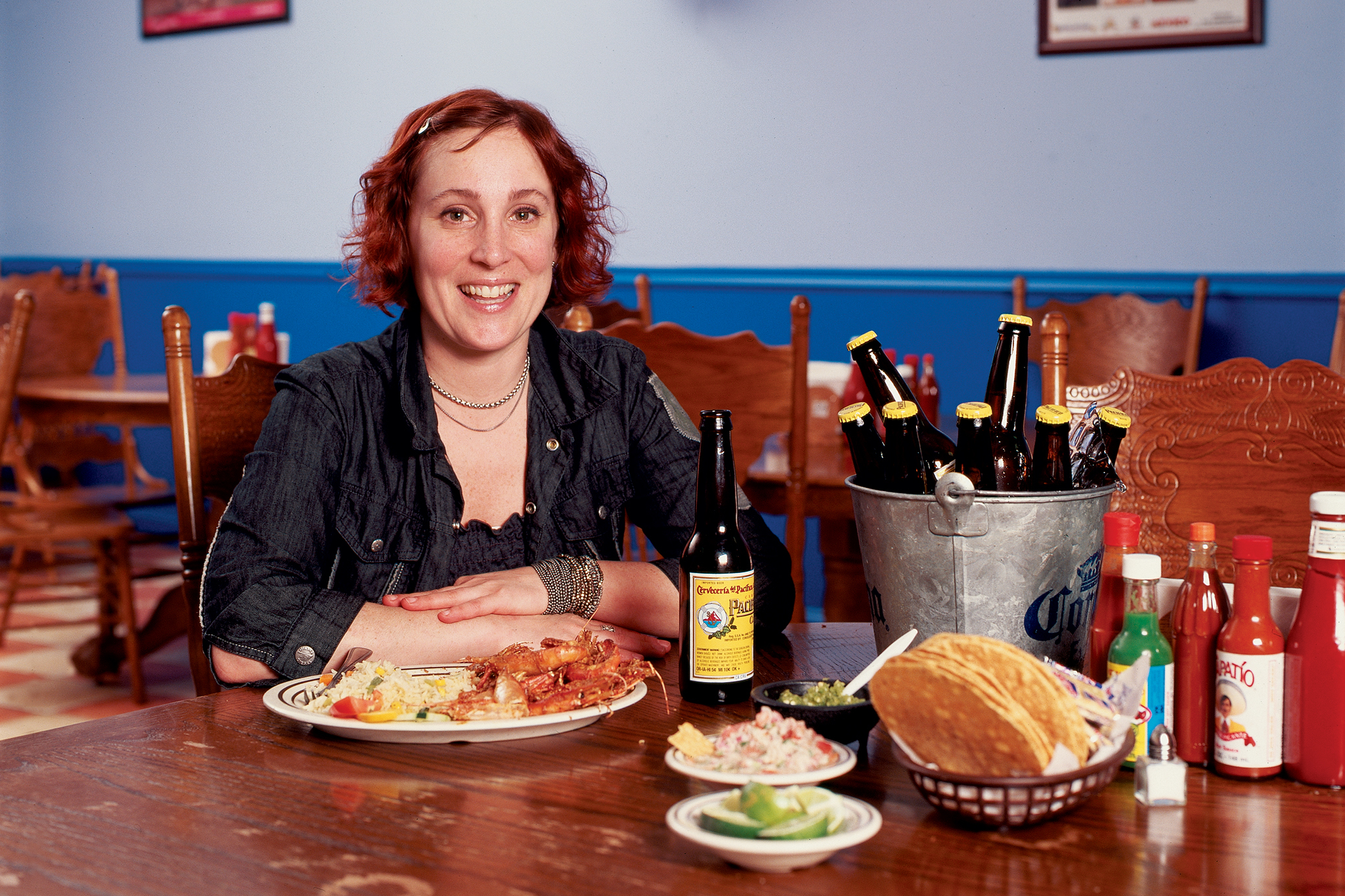 Mindy Segal at Las Islas Marias for our cheap eats issue June 17, 2005