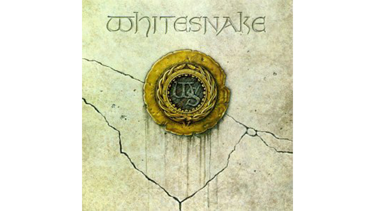 """""""Here I Go Again"""" by Whitesnake album cover"""