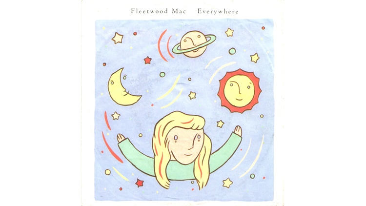 """Everywhere"" by Fleetwood Mac"