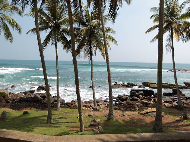 Devundara Beach is a beach in Matara