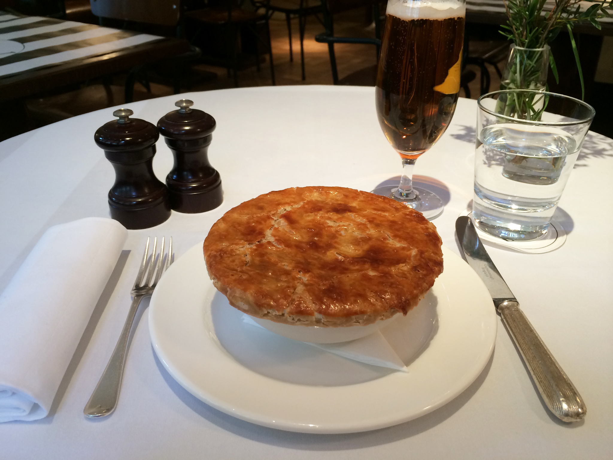 Pie of the day at Quo Vadis