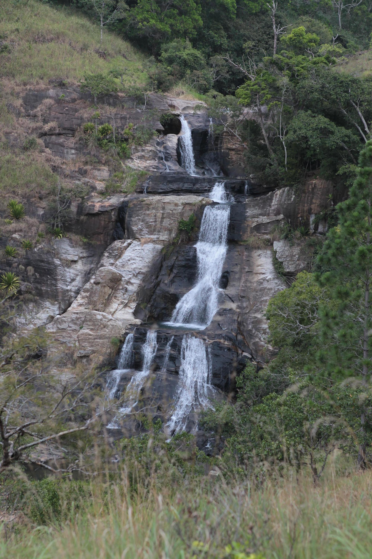 Diyaluma Falls is a waterfall in Badulla