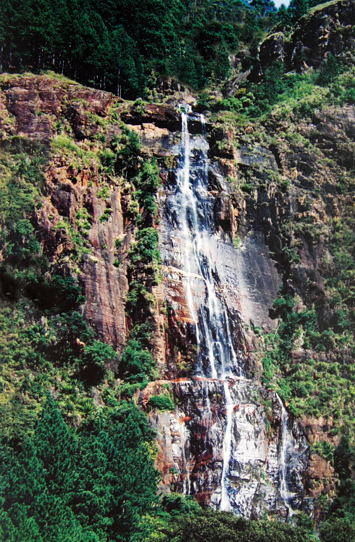 Bambarakanda Falls is a waterfall in Badulla