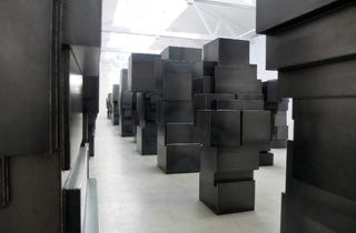 (Vue de l'exposition d'Antony Gormley, février 2015 / Courtesy de la galerie Thaddaeus Ropac / Photo : © TB / Time Out)