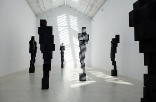 (Exposition Antony Gormley à la Galerie Thaddaeus Ropac, mars 2015 / © TB / Time Out)