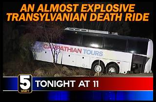 An Almost Explosive Transylvanian Death Ride