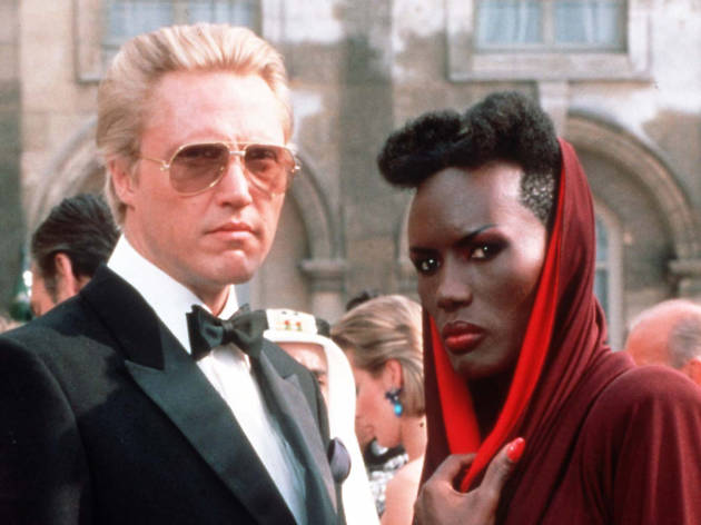 Christopher Walken and Grace Jones in 'A View to a Kill'