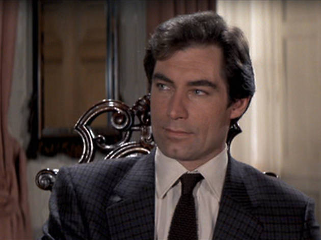 Timothy Dalton as James Bond in 'The Living Daylights'
