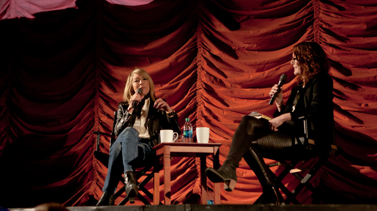 Five things we learned at Kim Gordon's interview at the Music Box