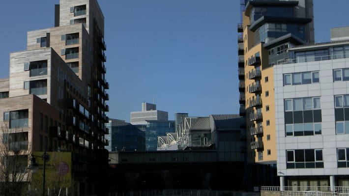 Pictures and photos of the Leeds skyline and architecture