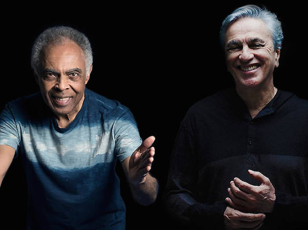 Caetano Veloso i Gilberto Gil