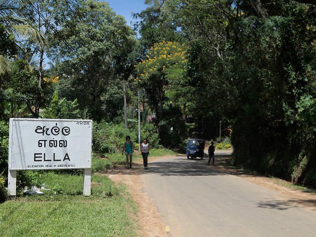 Ella is a town in Badulla