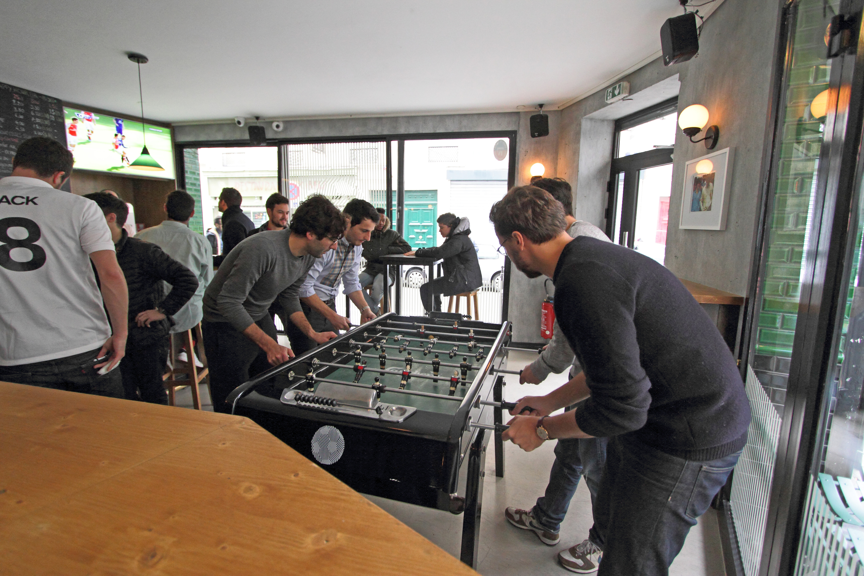 La Ballon sport bar football babyfoot