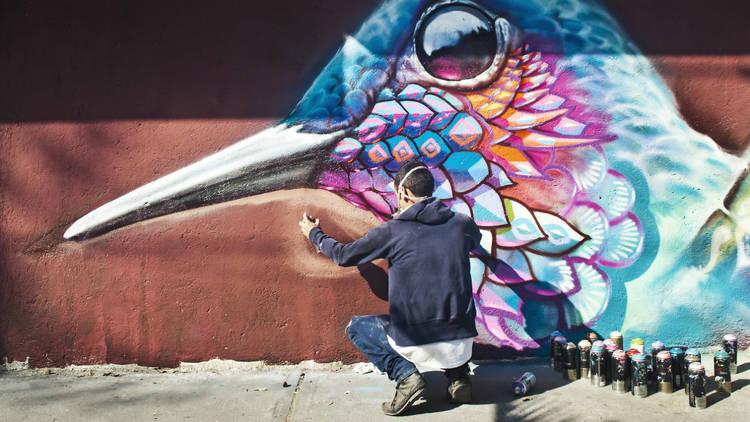Arte urbano (Foto: Alejandra Carbajal)