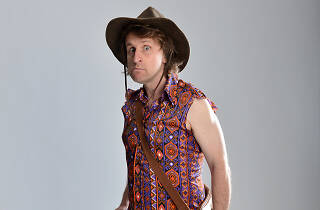 Milton Jones and the Temple of the Daft
