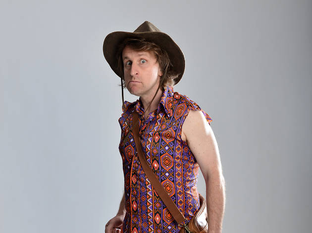 Milton Jones at the Temple of Daft