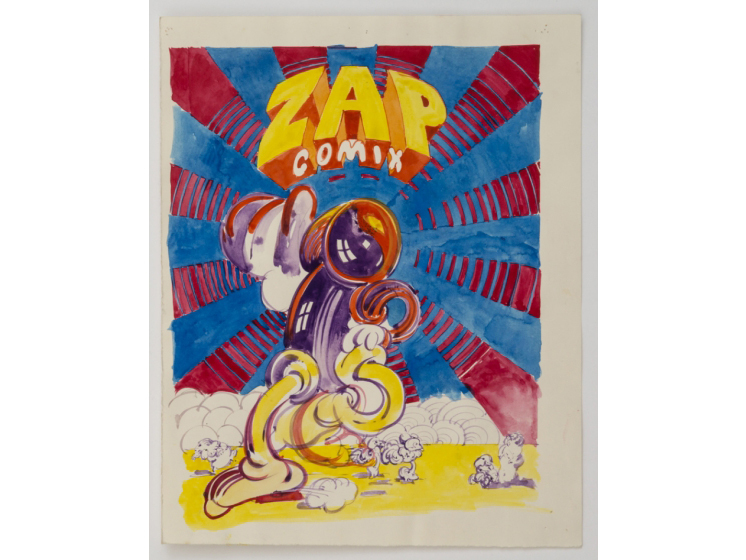"""Victor Moscoso, """"Psychedelic Drawings, 1967–1982"""""""