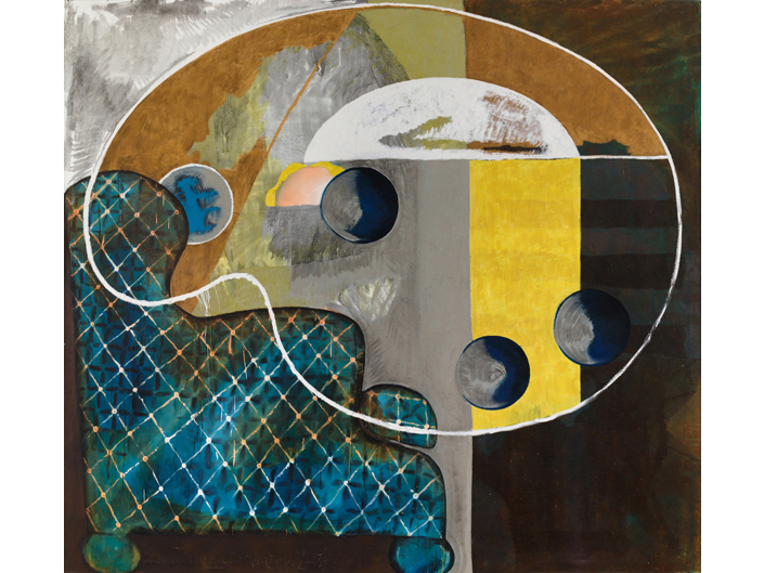 "Charline von Heyl, ""Düsseldorf: Paintings from the early 90s"""