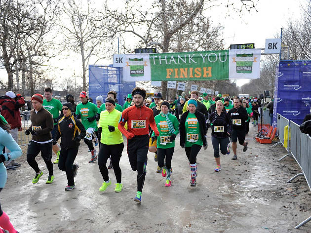 St. Paddy's Day 5K and 8K Run