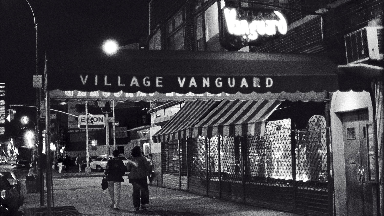 The Village Vanguard at night