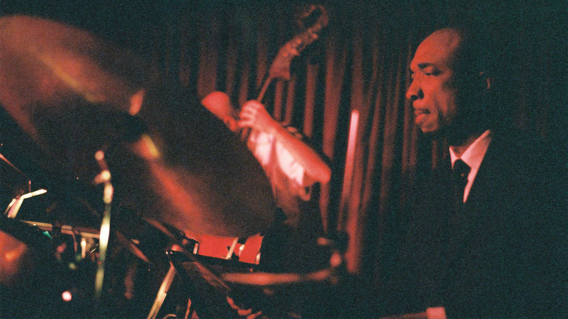 Performance by the Fred Hersch Trio w/ Joe Lovano at the legendary Village Vanguard in New York. Taken on September 7, 2013