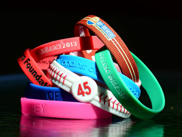 Silicone cause bracelets