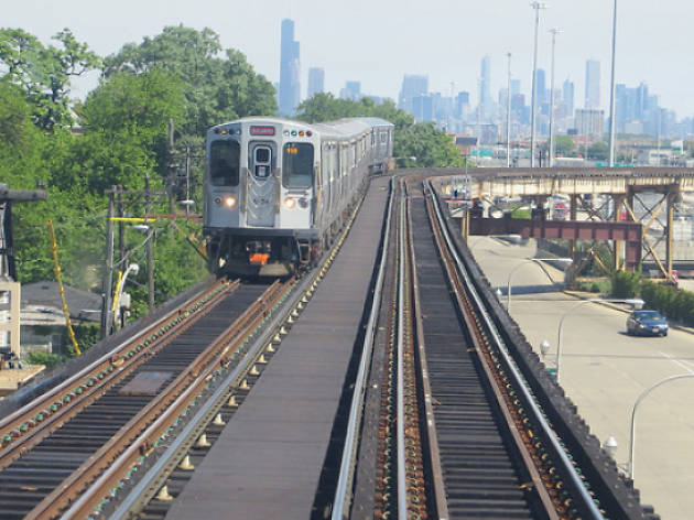 The CTA added the Pink Line (and a few other stops)