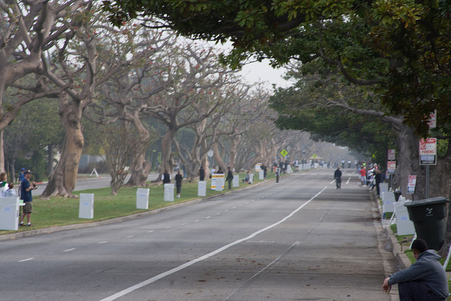 Anywhere on San Vicente Boulevard