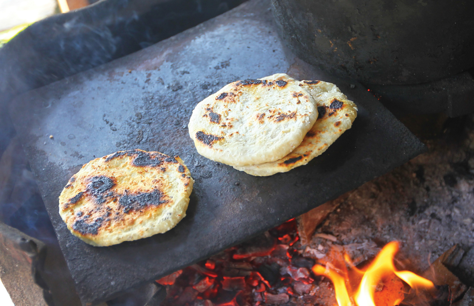 Roti is a street food in Sri Lanka
