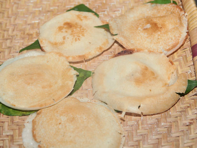 Hoppers is a type of food in Sri Lanka