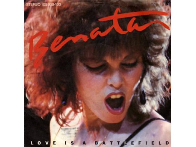 Pat Benatar –Love is a Battlefield