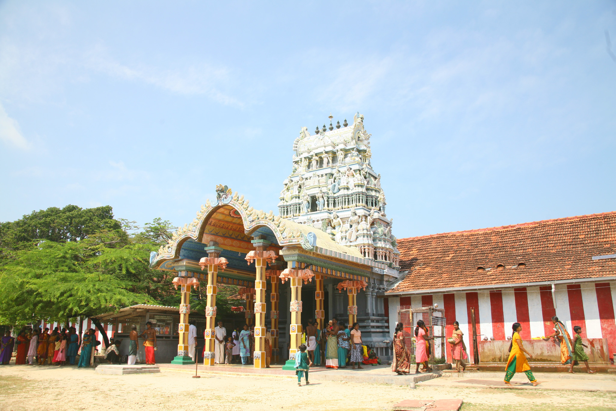 Nagapooshani Amman Kovil is a kovil in Jaffna